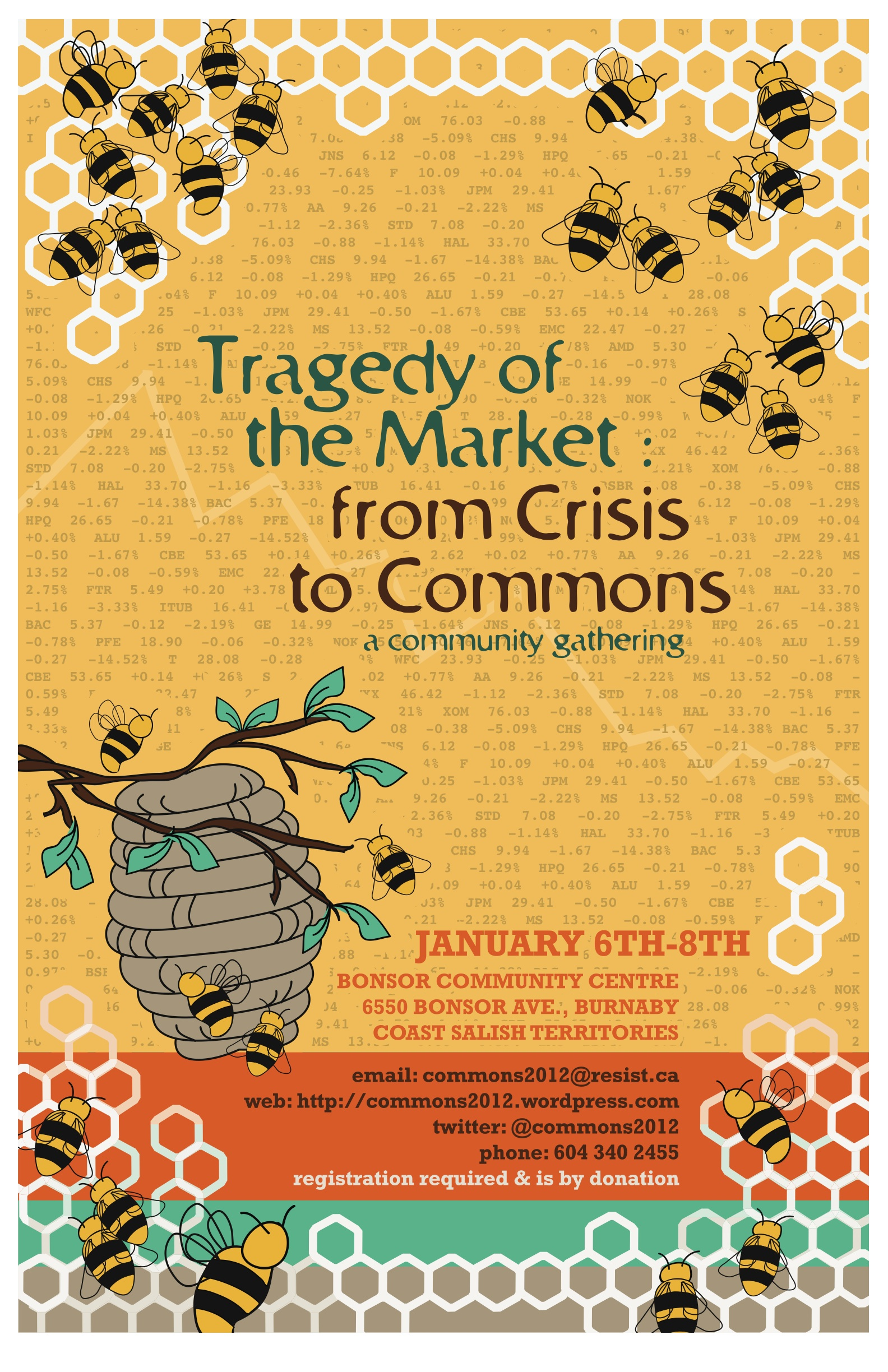 Tragedy of the Market: from Crisis to Commons